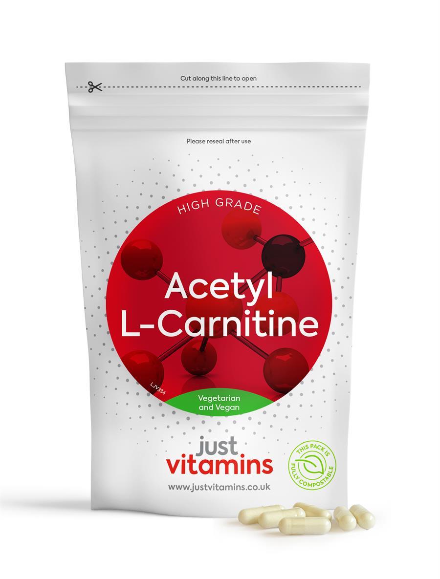 Just Vitamins L-Carnitine 500mg
