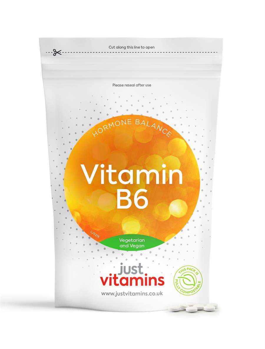 Just Vitamins Vitamin B6 10mg
