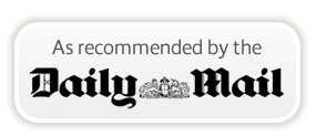 As Recommended in the Daily Mail