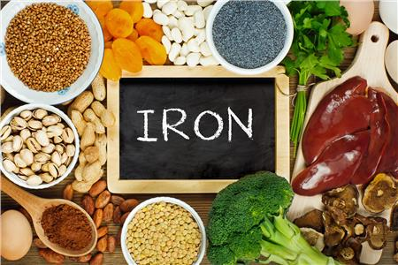 Iron deficiencies in the UK