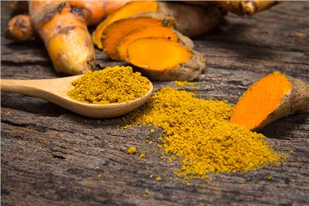 Turmeric helps to build and repair bones affected
