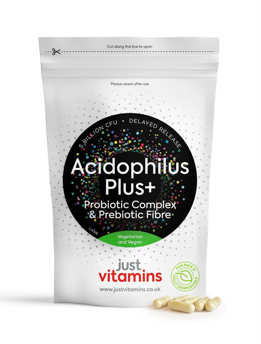Acidophilus Plus+ with Prebiotic Capsules