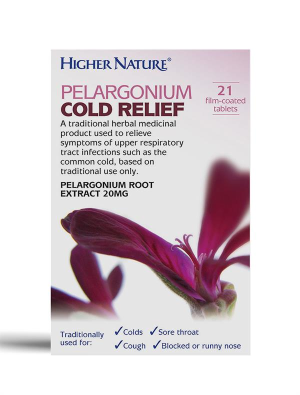 Buy Pelargonium Cold Relief tablet - 20mg