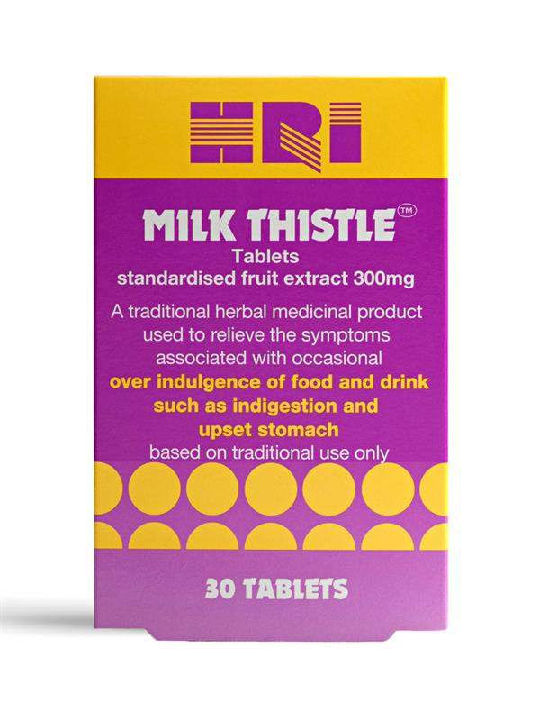 Buy HRI Milk Thistle™ Tablets - 300mg