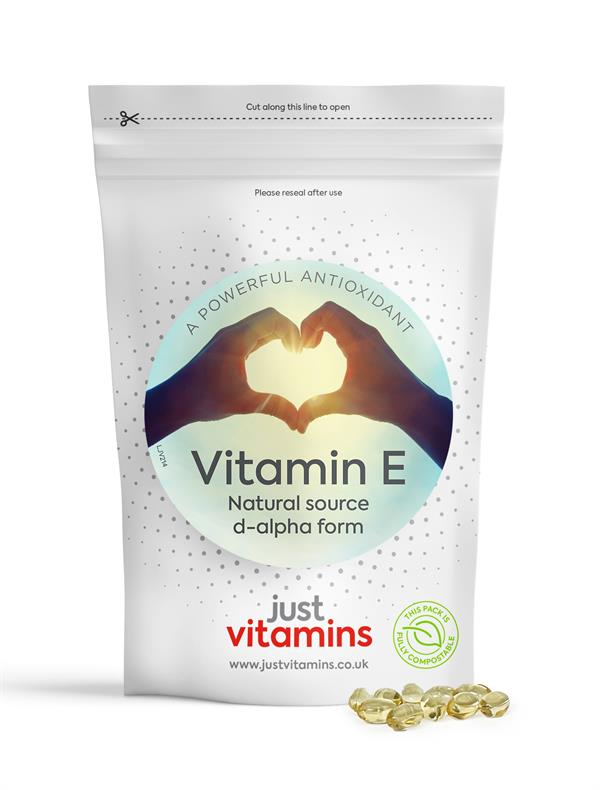 Buy Vitamin E (Natural) Capsules - 400iu