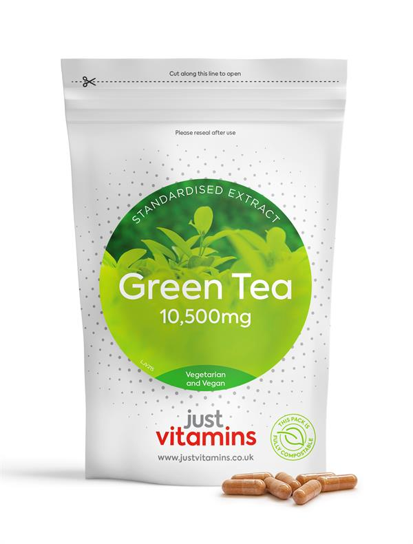 Buy Green Tea Standardised Extract Capsules - 10,500mg