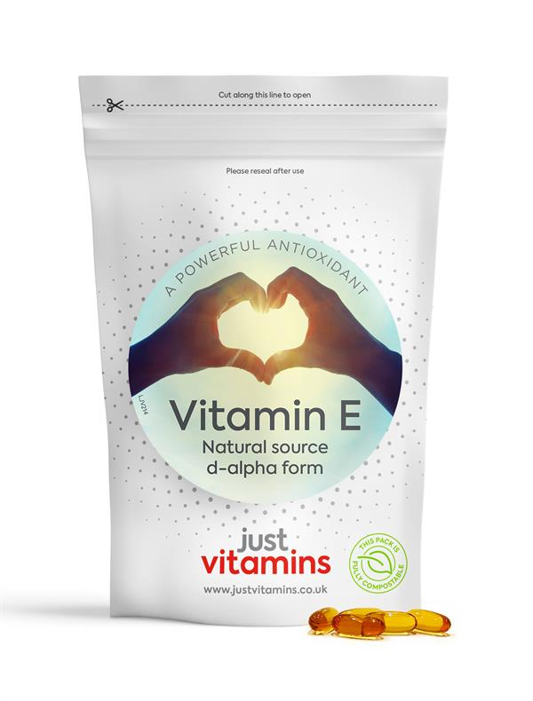 Buy High Strength Vitamin E (Natural) Capsules - 1000iu