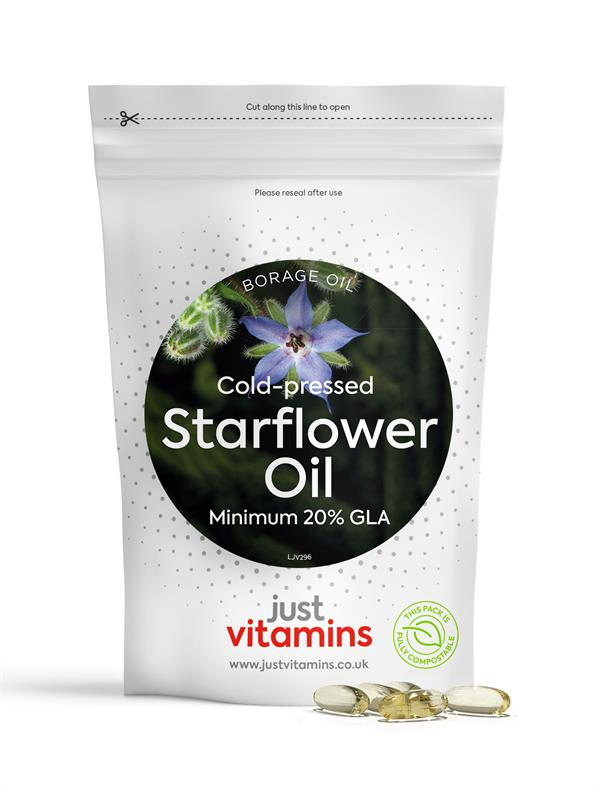 Buy Starflower Oil Capsules - 1000mg
