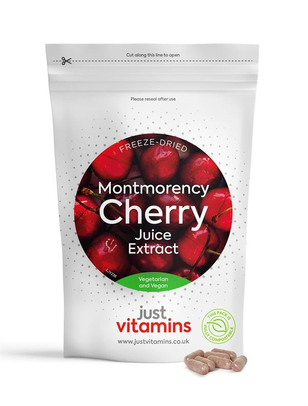 Buy Montmorency Cherry Juice Extract Capsules - 4350mg