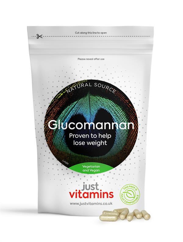 Buy Glucomannan Capsule - 500mg