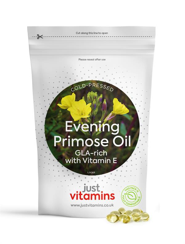 Buy Evening Primrose Oil Capsules - 500mg