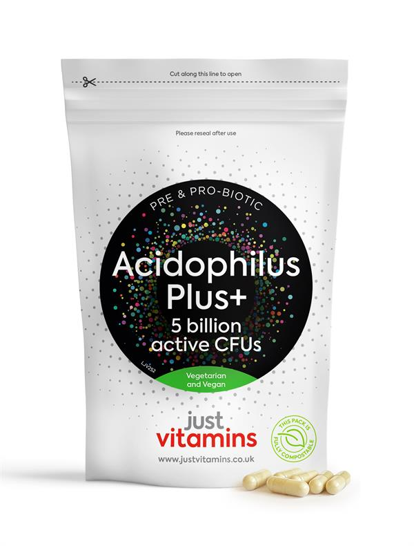 Buy Acidophilus Plus+ with Prebiotic Capsules