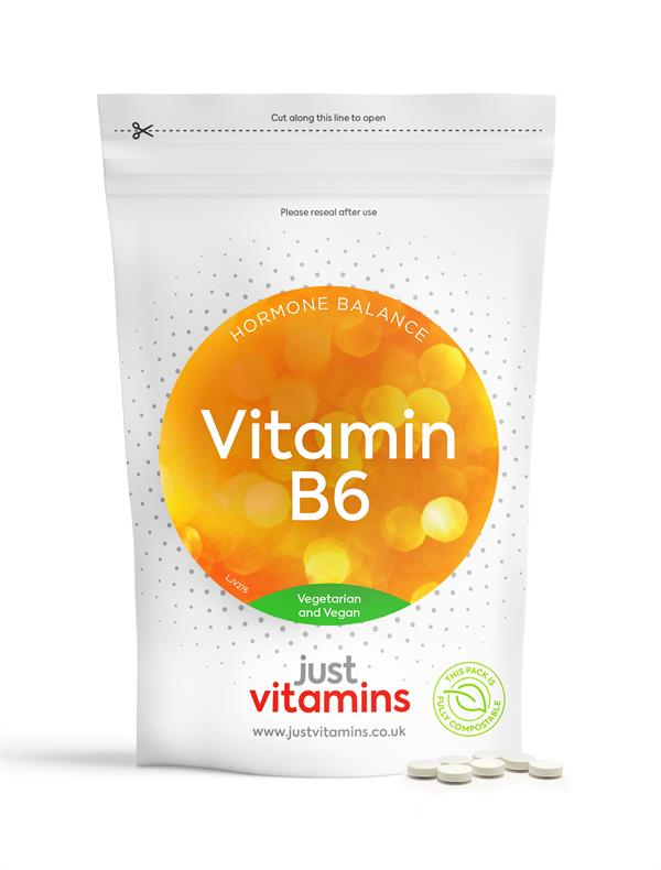 Buy Extra High Strength Vitamin B6 Tablets - 100mg