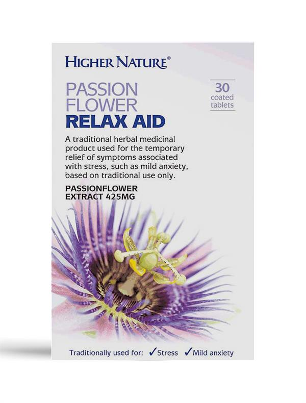 Buy Passion Flower Relax Aid tablet - 425mg