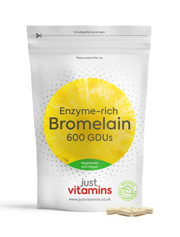 Buy Bromelain Capsules - 300mg