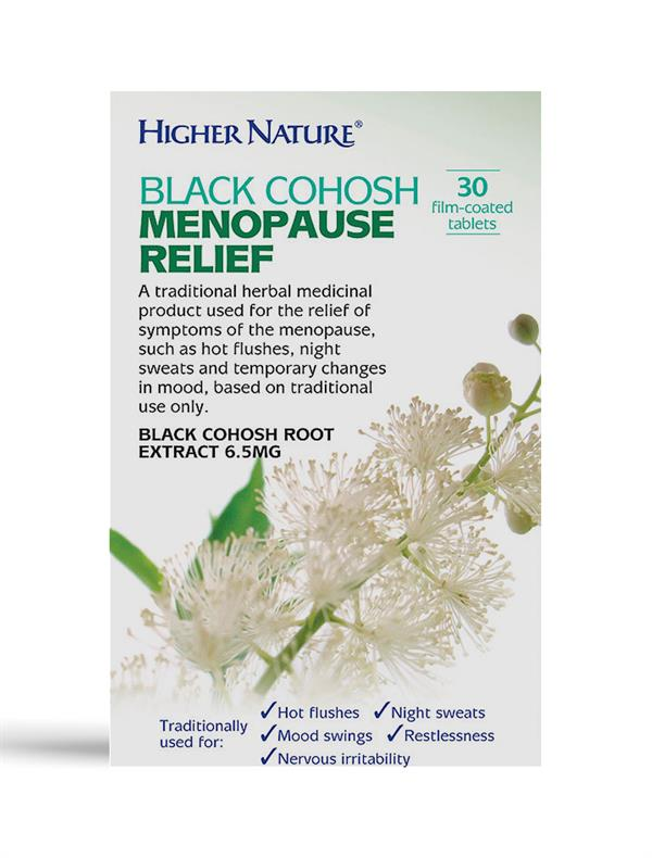 Buy Black Cohosh Menopause Relief tablet - 6.5mg