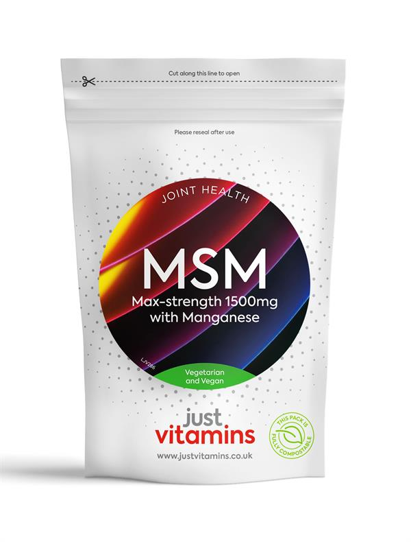 Buy High Strength MSM Caplets - 1500mg