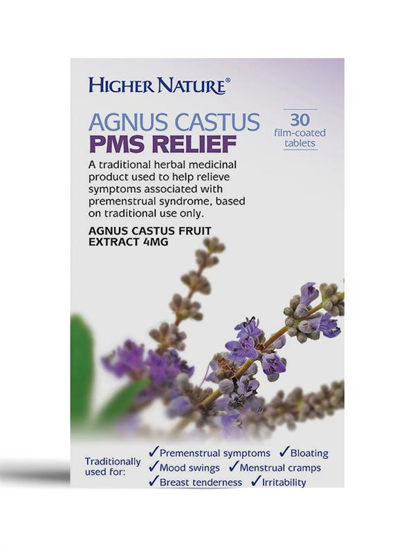 Buy Agnus Castus PMS Relief tablet - 4mg
