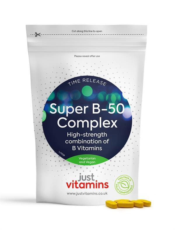 Buy Super Vitamin B-50 Complex Tablets