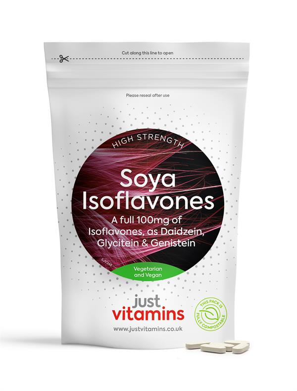 Buy Soya Isoflavones Tablets - 100mg